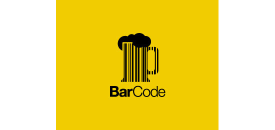 BarCode Logo Design Inspiration Made Just For Fun