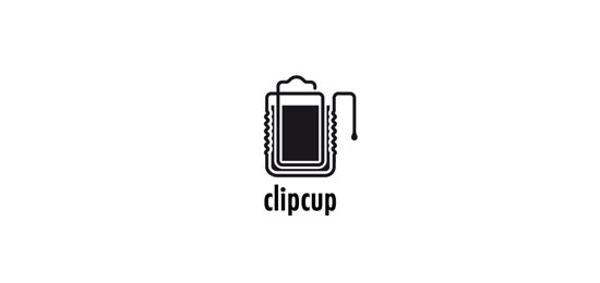 Clipcup Logo Design Inspiration Made Just For Fun