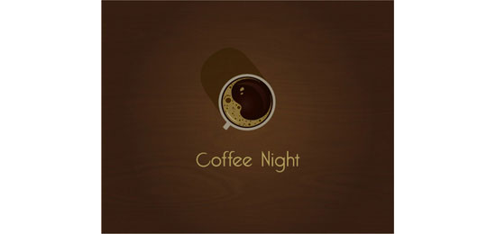Coffee Night Logo Design Inspiration Made Just For Fun