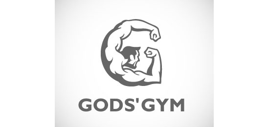 God's Gym  Logo Design Inspiration Made Just For Fun