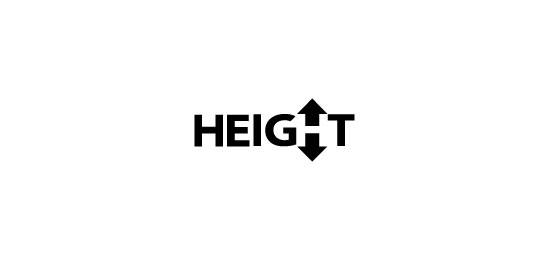 Height Logo Design Inspiration Made Just For Fun