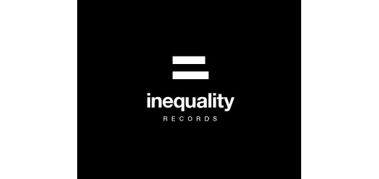 Inequality Records Logo Design Inspiration Made Just For Fun
