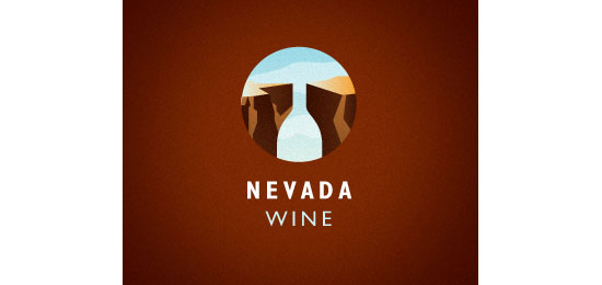 Nevada Wine Logo Design Inspiration Made Just For Fun
