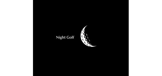 Night Golf Logo Design Inspiration Made Just For Fun