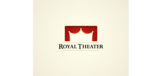 Royal theater Logo Design Inspiration Made Just For Fun