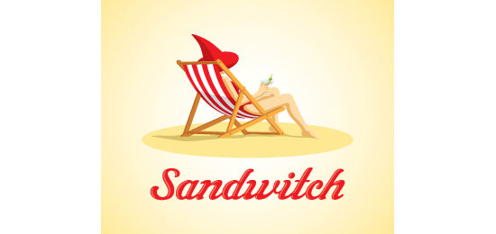 Sandwitch Logo Design Inspiration Made Just For Fun