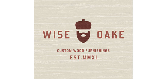 Wise Oake Logo Design Inspiration Made Just For Fun