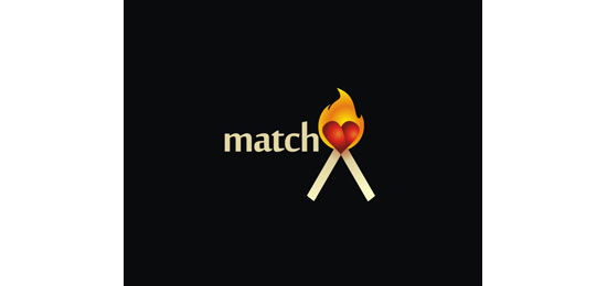 match Logo Design Inspiration Made Just For Fun