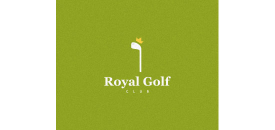 royal golf club Logo Design Inspiration Made Just For Fun
