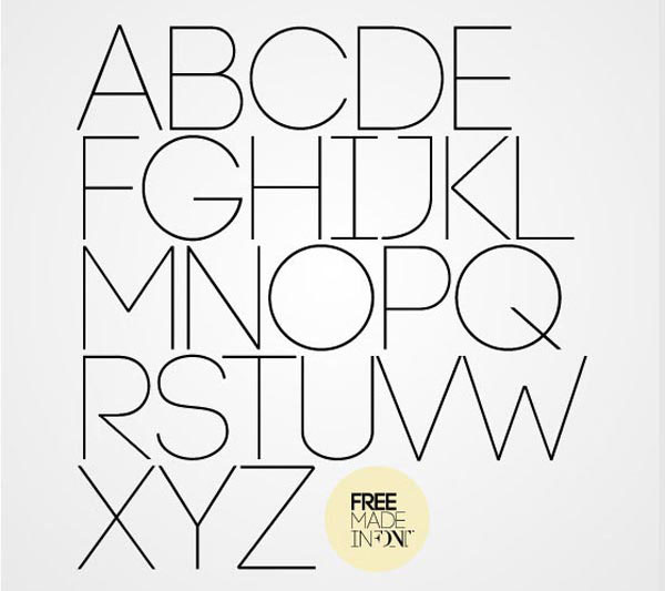 Code Free for Commercial use Font