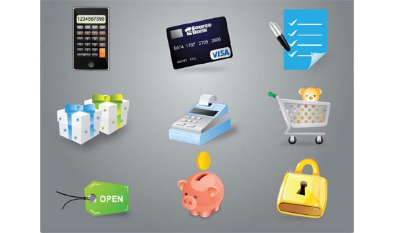 Free ecommerce icons Free Vector Graphics