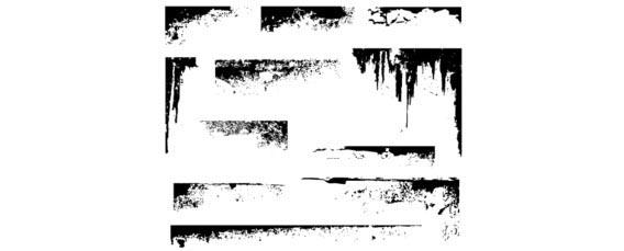 50 Free Vector Grunge Corners Free Vector Graphics