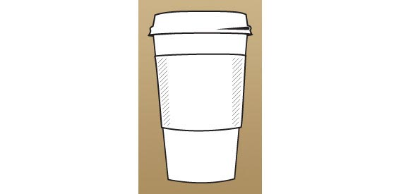 Coffee Cup AI Free Vector Graphics