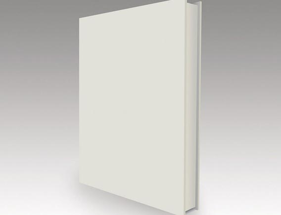 Empty book cover Free Vector Graphics
