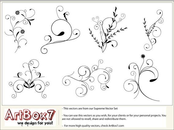 Foliages Free Vector Graphics