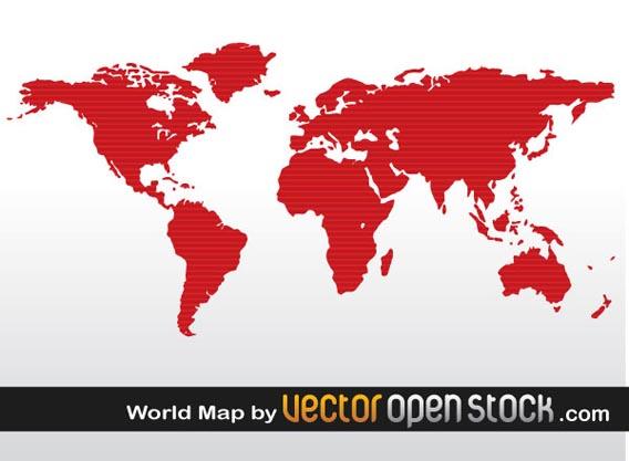 World Map Free Vector Graphics