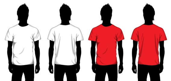 blank t shirt design template. house Blank T shirt polo