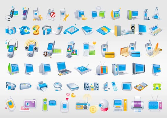 Technology Free Vector Graphics