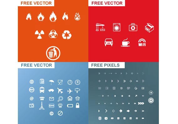 Vector icons from freshpixel.fr Free Vector Graphics