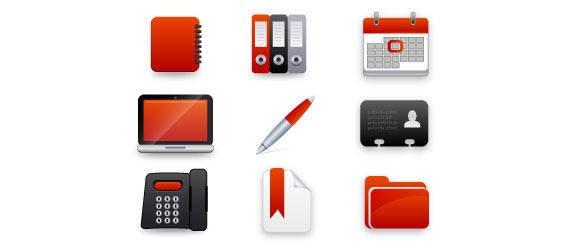 Red Icon Free Vector Graphics
