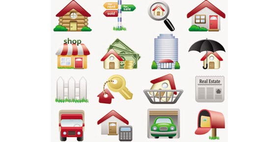 Stock Illustrations Real-Estate Vector Free Vector Graphics