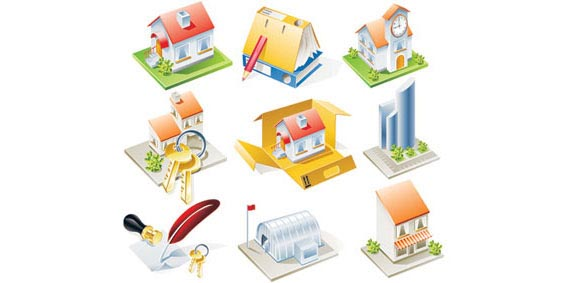 Stock Ilustrations Realest Houses Vector Free Vector Graphics