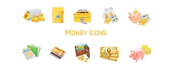 Money Icons Free Vector Graphics