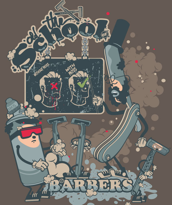 The old school of new barbers 2