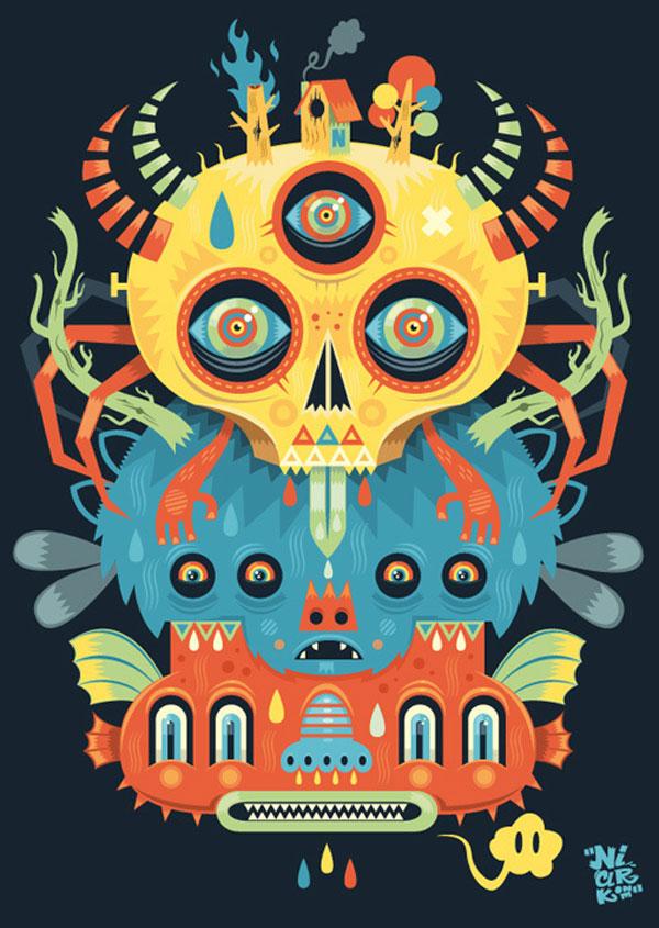 Illustration #8 ( special symmetry ) 1