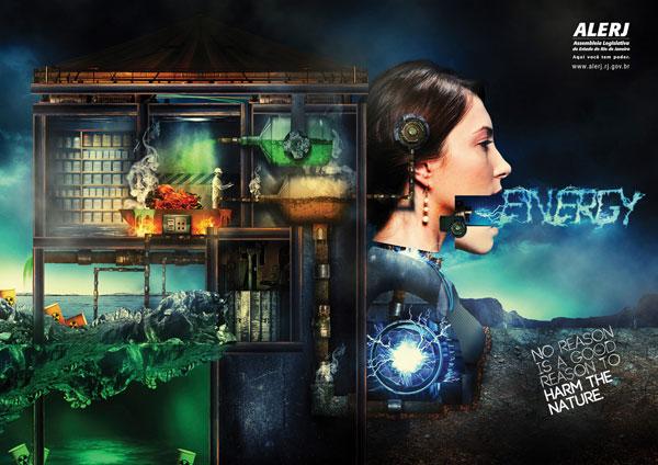 alerj_energy Advertisement Ideas: 500 anuncios creativos y geniales