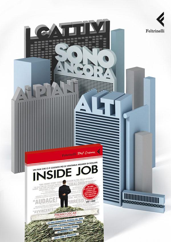 feltrinelli_publisher_inside_job Ideas de publicidad: 500 anuncios creativos y geniales