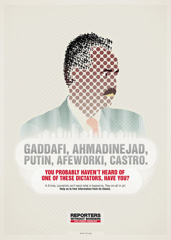 reporters_without_borders_dictators Advertisement Ideas: 500 anuncios creativos y geniales