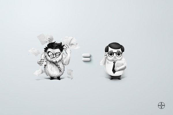Ideas sobre publicidad de aspirina: 500 anuncios creativos y divertidos