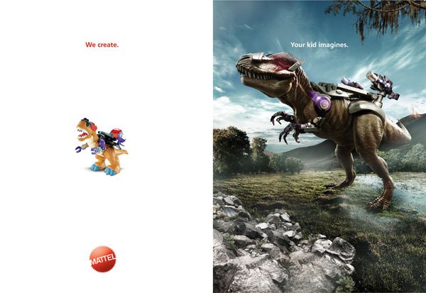 We-create.-Your-kid-imagines Ideas publicitarias: 500 anuncios creativos y geniales