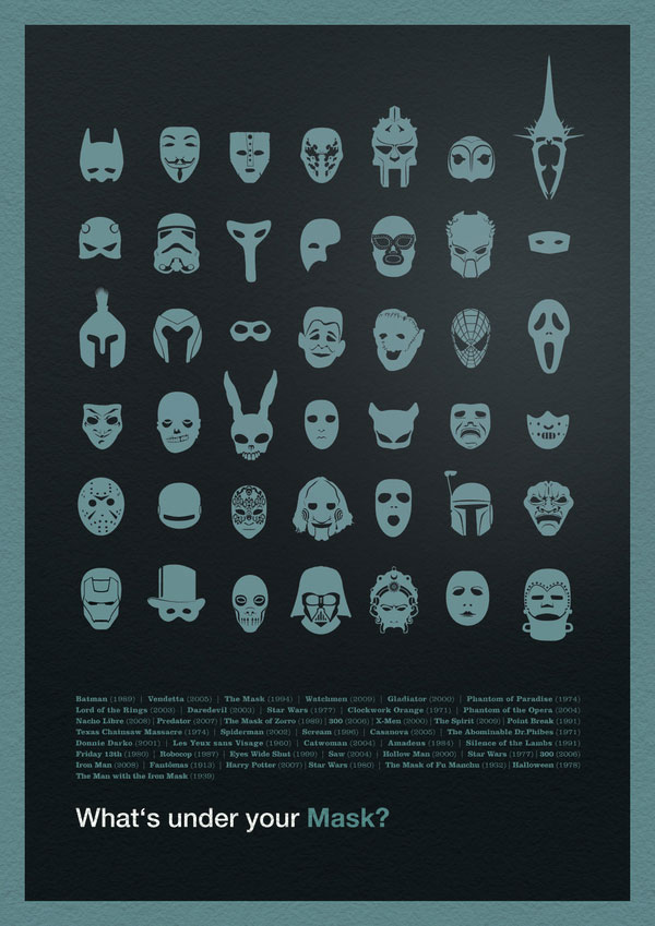 What's under your Mask? German Design Inspiration