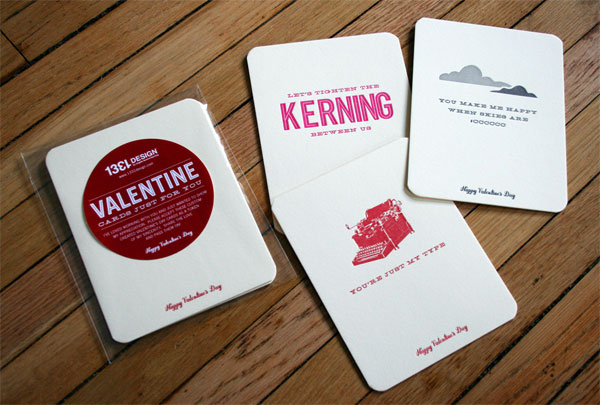 1331 Design Promotional Valentines Print Design Inspiration