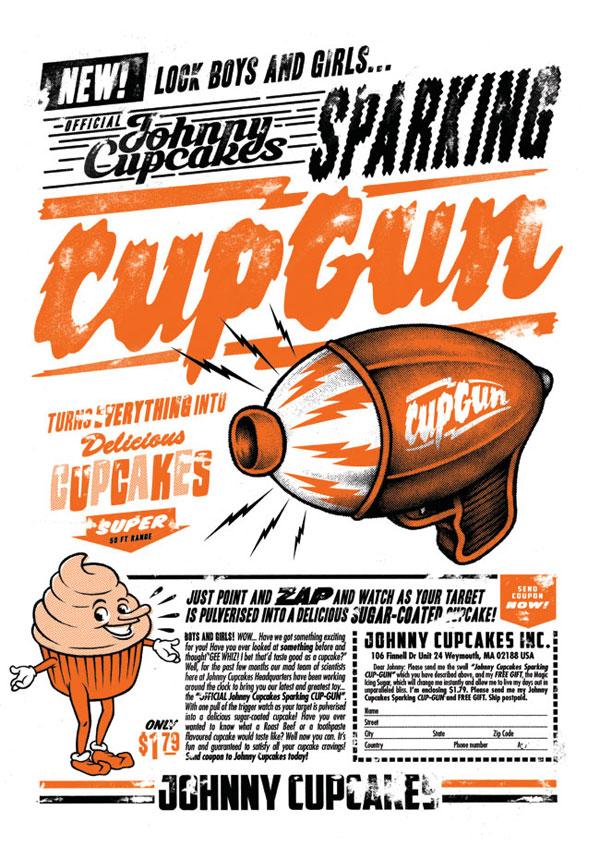 CupGun Print Design Inspiration