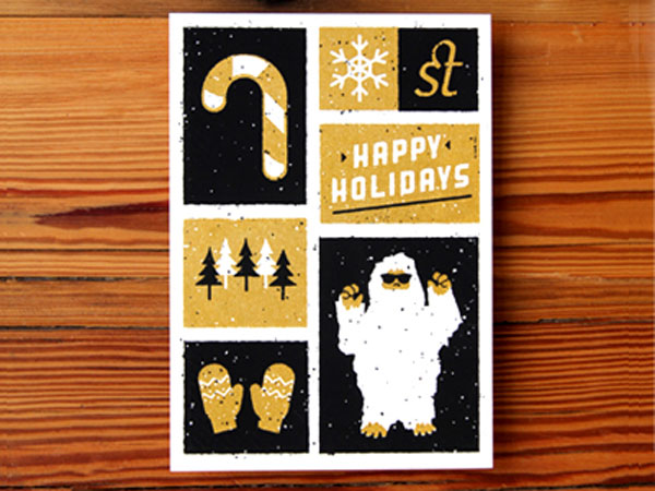 Holiday Card Print Design Inspiration