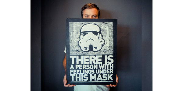 Storm Trooper Print Design Inspiration