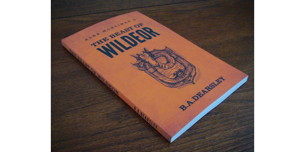 The Beast of Wildeor Book Cover Print Design Inspiration