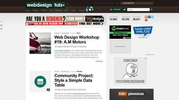 WebDesign,Tutsplus