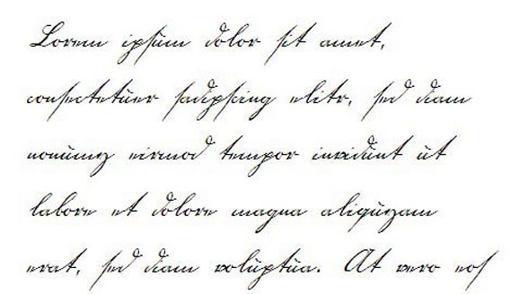 18th century Handwriting And Script Font