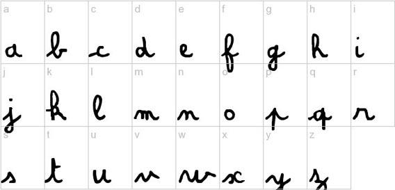 Amandine Handwriting And Script Font