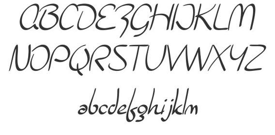 Burlington Script Handwriting And Script Font