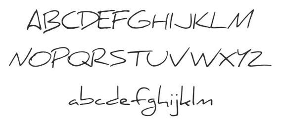 Daniel Handwriting And Script Font