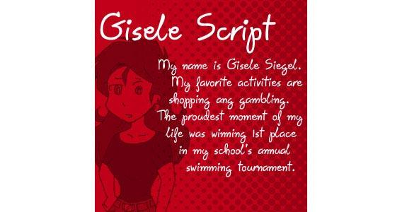 Gisele  Handwriting And Script Font