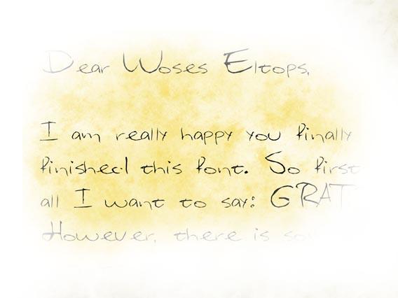 Eltops Handwriting And Script Font