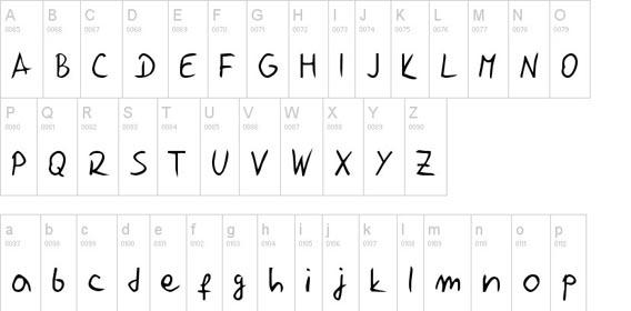 Jelusic Rukopisni Handwriting And Script Font