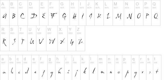 Dali Handwriting And Script Font