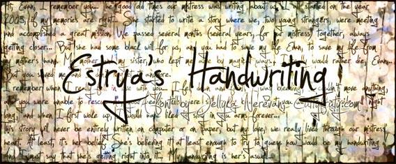Estrya's Handwriting Handwriting And Script Font